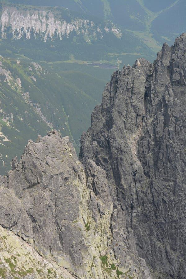 Montagne della Slovacchia immagine stock libera da diritti