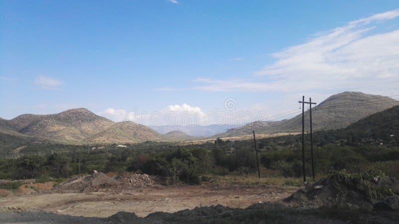 Montagne della Sudafrica fotografie stock libere da diritti