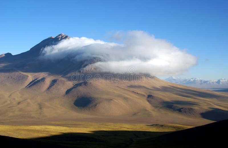 Montagne delle Ande, Cile fotografie stock libere da diritti