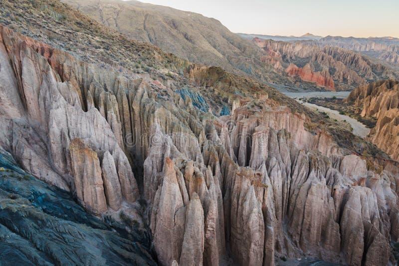 Montagne di Altiplano fotografia stock libera da diritti