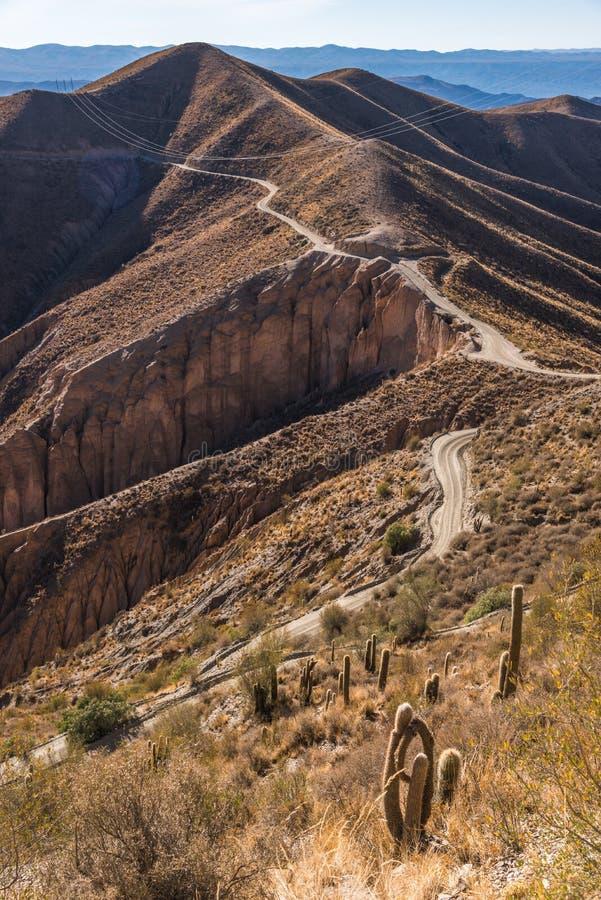 Montagne di Altiplano fotografia stock