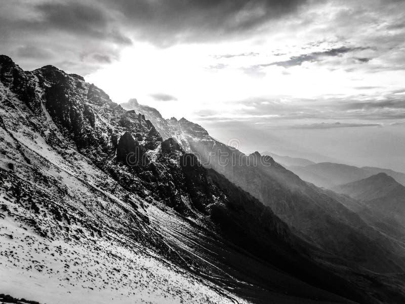 Montagne di atlante immagine stock