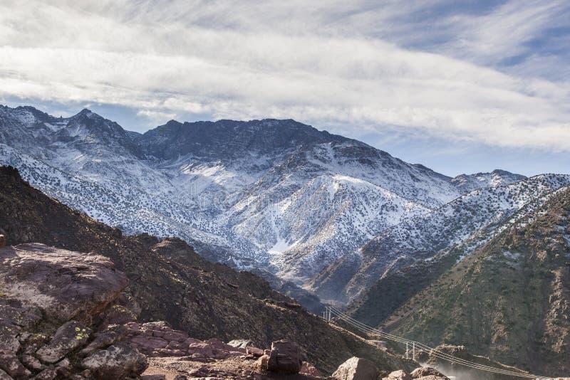 Montagne di atlante - Marocco fotografie stock libere da diritti
