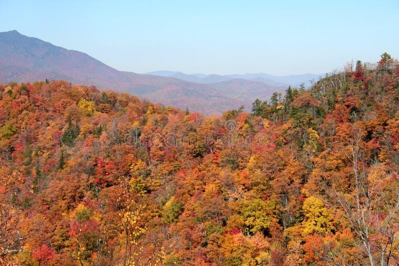 Montagne di autunno fotografie stock