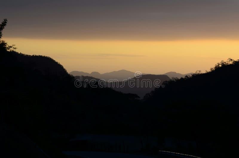 Montagne di Canchaque - Piura - Perù immagine stock libera da diritti