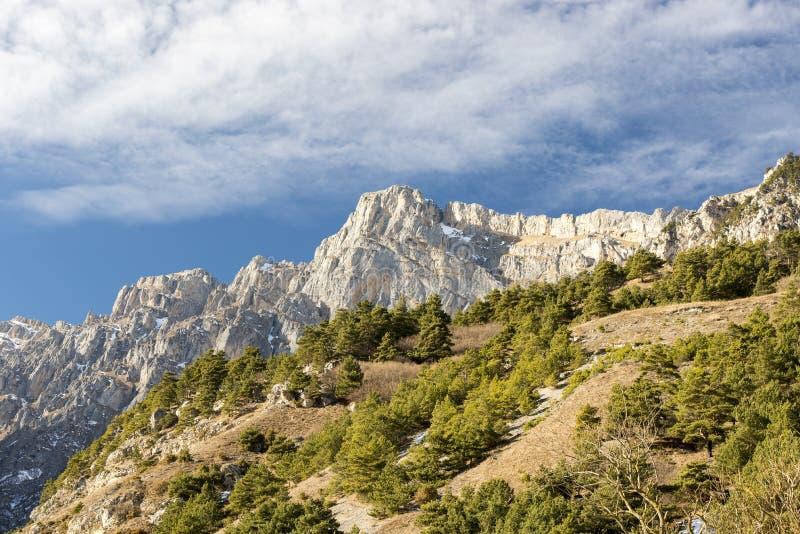 Montagne di Caucaso fotografia stock