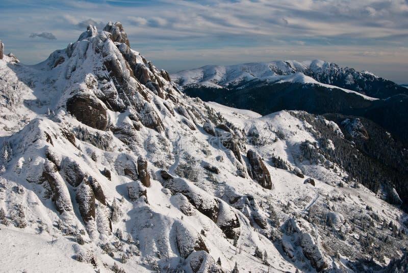 Montagne di Ciucas immagini stock