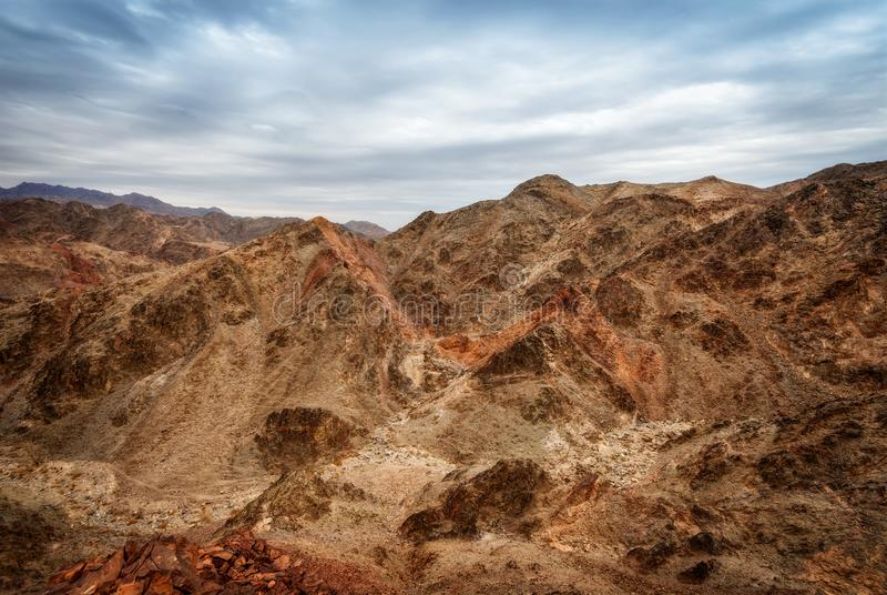 Montagne di Eilat immagine stock