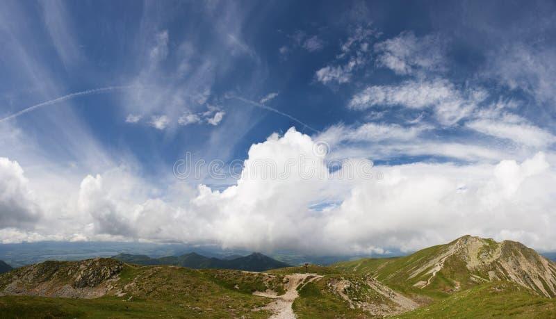 Montagne di estate fotografia stock libera da diritti