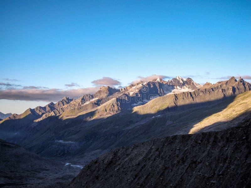 Montagne di Himachal Pradesh, India immagini stock