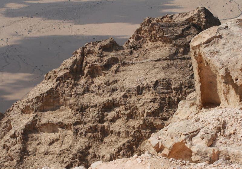 Montagne di Jebel Hafeet fotografie stock