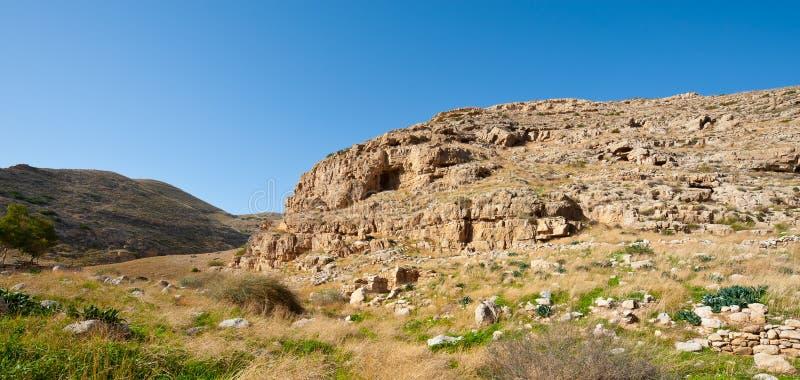 Montagne di Judean fotografia stock libera da diritti