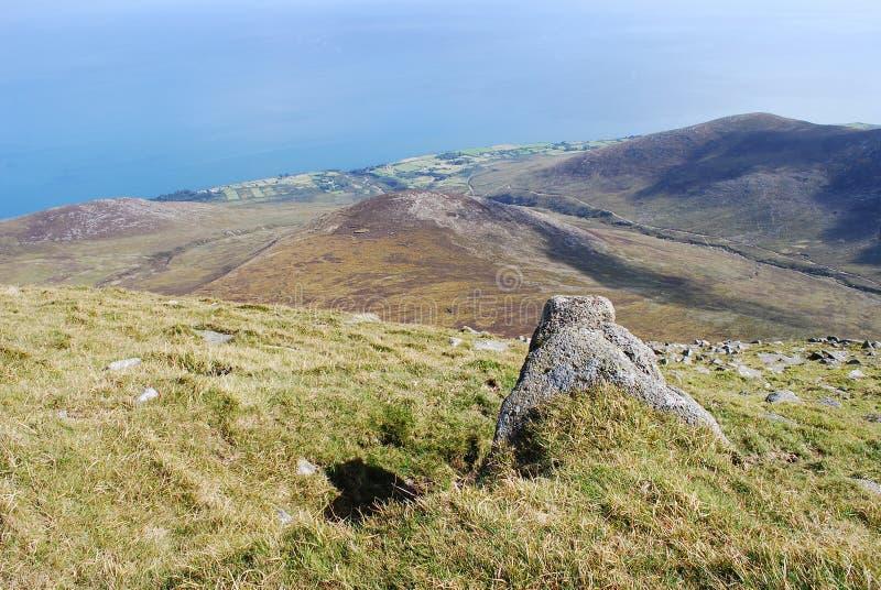 Montagne di Mourne, Irlanda del Nord immagini stock
