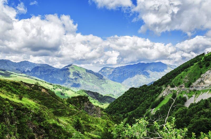 Montagne di Pirenei immagini stock libere da diritti