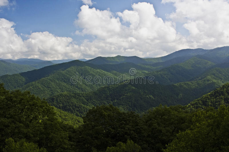Montagne di Ridge blu immagine stock libera da diritti