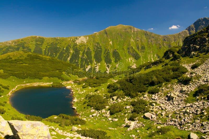 Montagne di Rohace in Slovacchia immagini stock