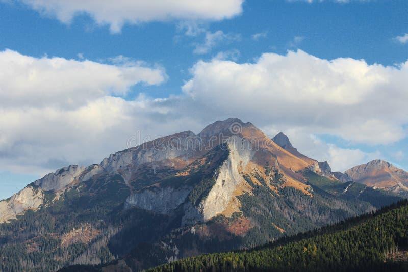 Montagne di Tatra fotografia stock libera da diritti