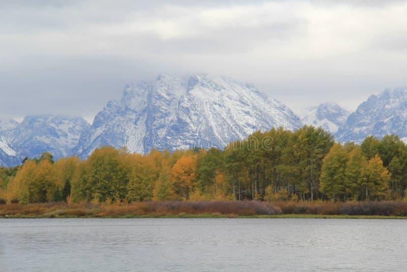 Montagne di Teton fotografie stock libere da diritti