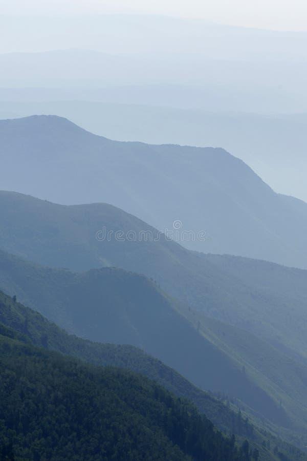Montagne di Wasatch fotografie stock