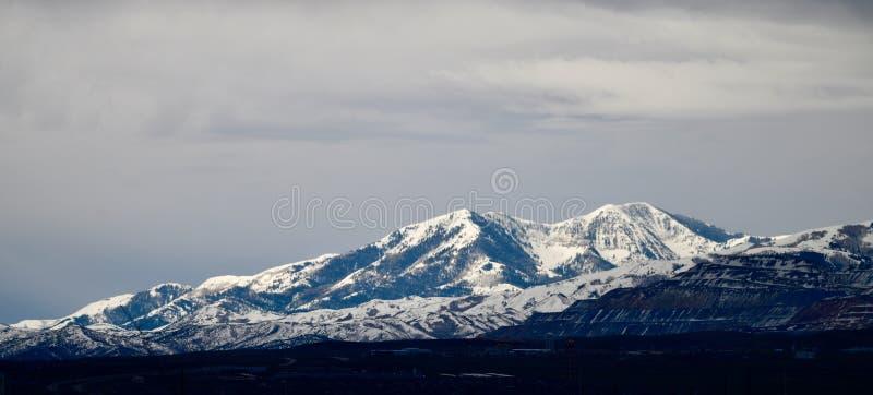 Montagne di Wasatch immagine stock