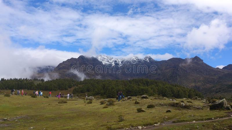 Montagne du Venezuela image stock