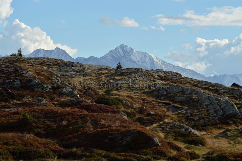 Montagne en parc national de Vanoise photographie stock libre de droits