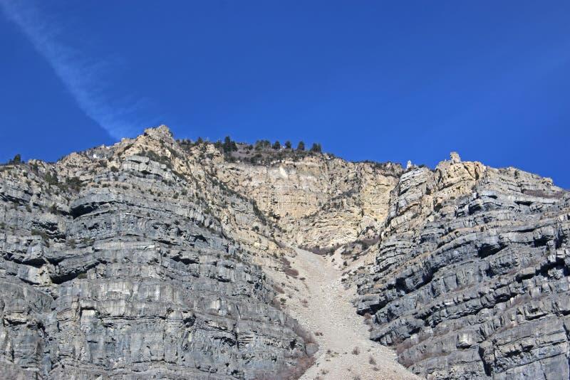 Montagne fronte di Wasatch fotografia stock libera da diritti