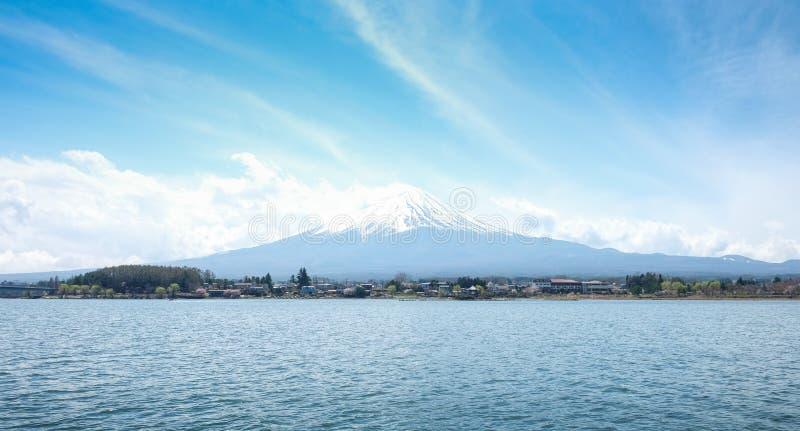 Montagne Fuji et lac kawaguchi photo libre de droits