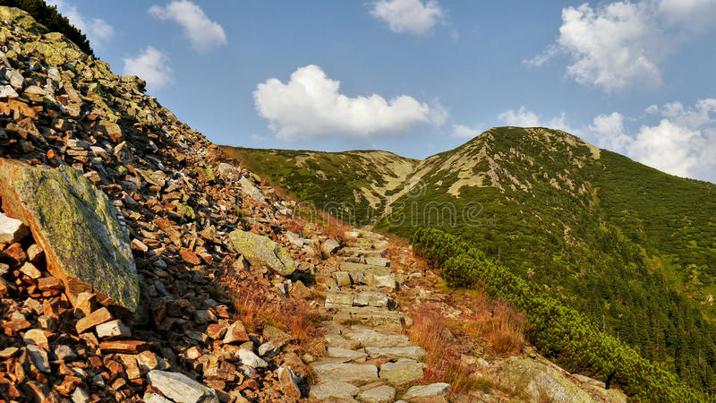 Montagne giganti fotografia stock