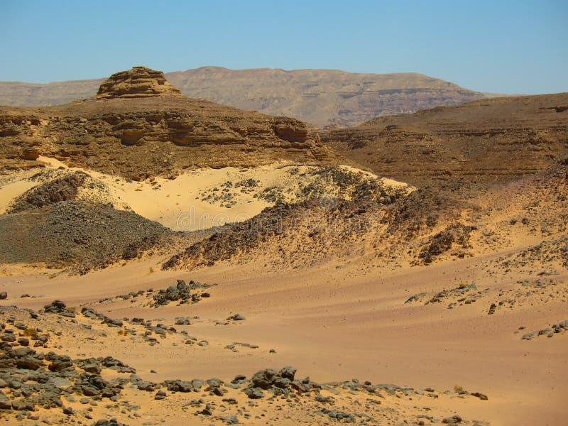 Montagne il deserto. L'Africa fotografia stock libera da diritti