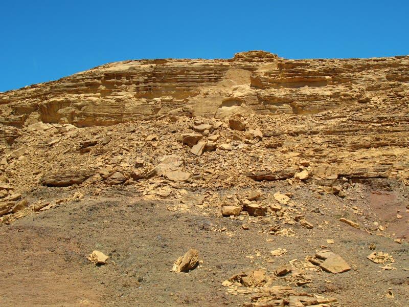 Montagne il deserto. L'Africa fotografie stock libere da diritti