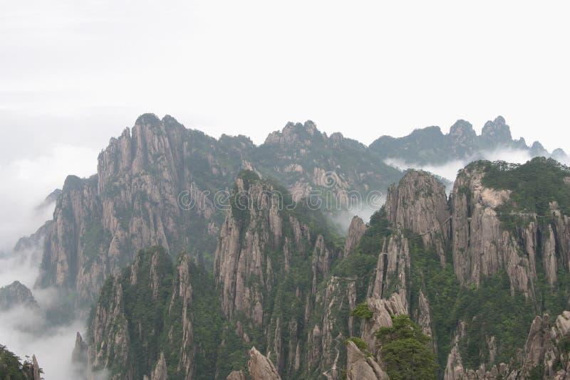 Montagne jaune 2, Chine photo stock