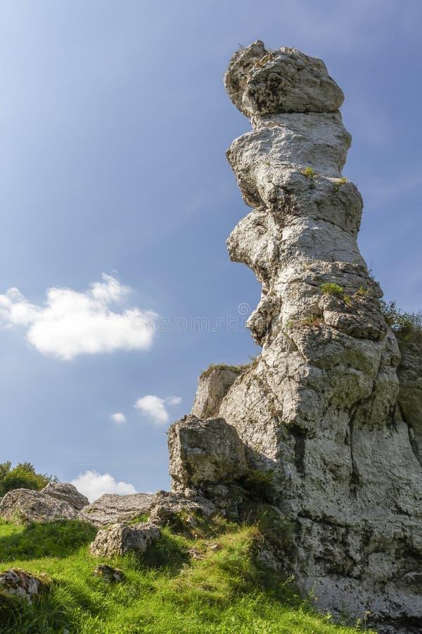 Montagne jurassique polonaise image stock