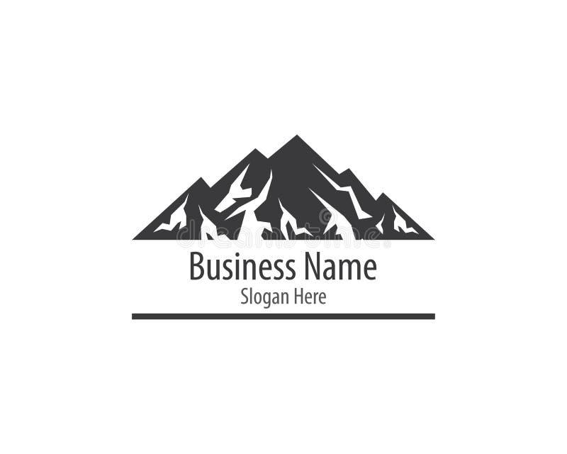 Montagne Logo Template illustration libre de droits