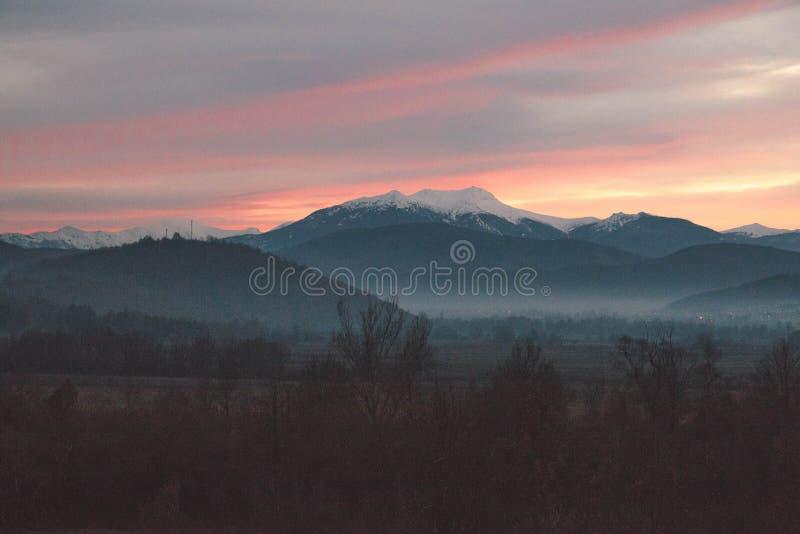 Montagne Macédoine de Buseva photos libres de droits