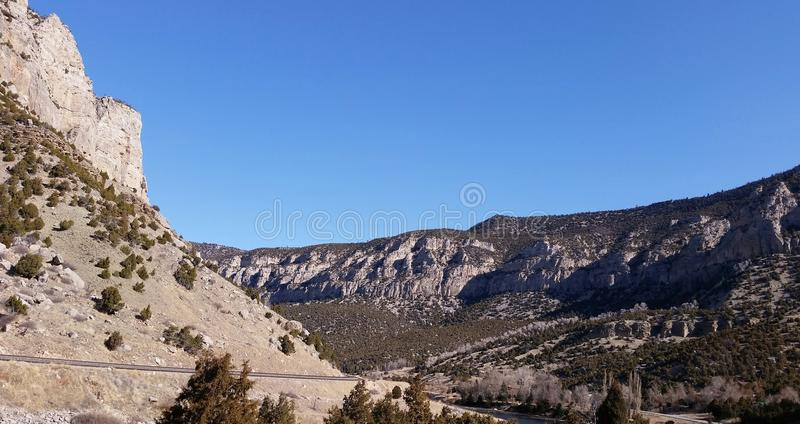 Montagne maestose fotografia stock