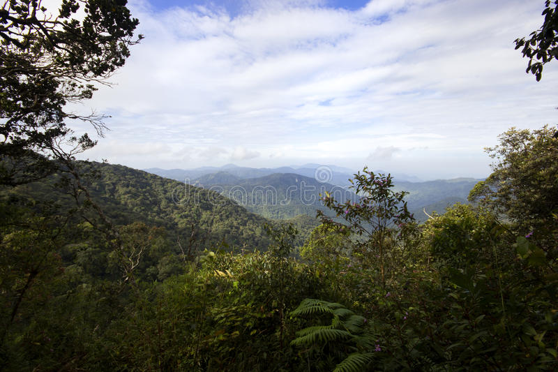 Montagne Malaisie de Brinchang photo stock