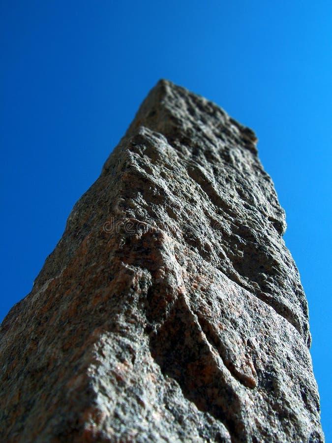 Montagne minuscule image libre de droits
