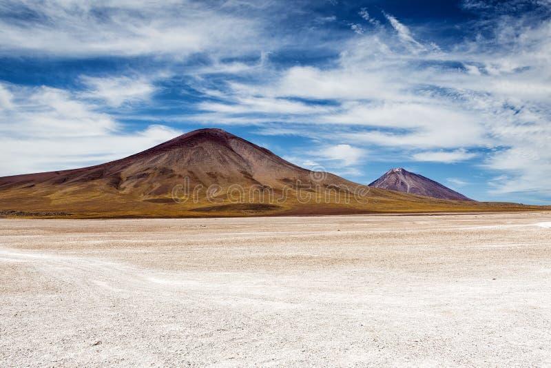 Montagne nel Altiplano fotografia stock libera da diritti