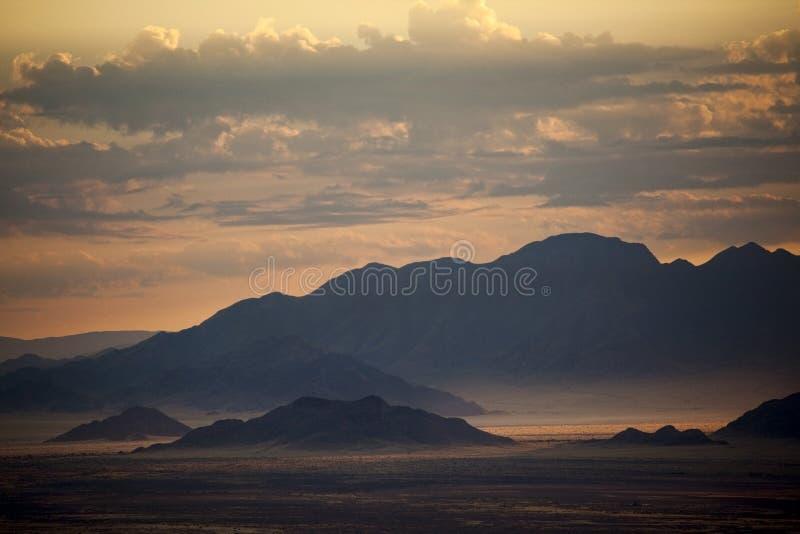 Montagne nel Namibia fotografia stock