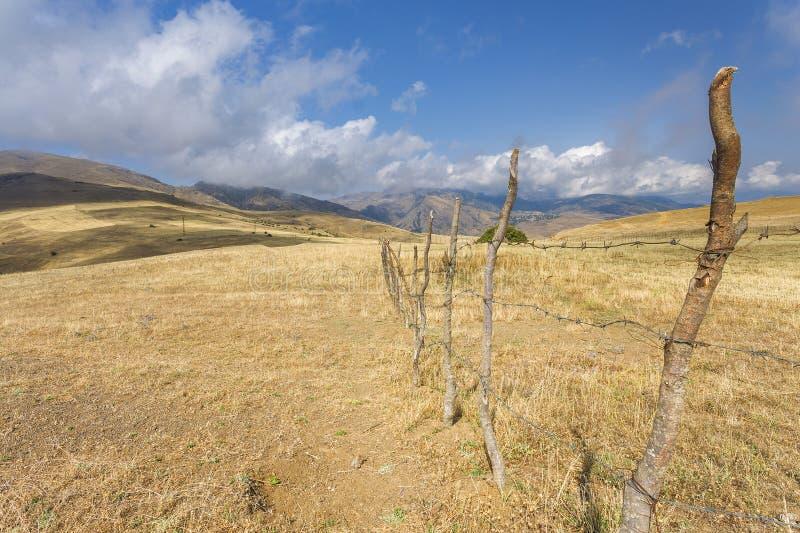 Montagne nell'Azerbaigian del sud immagine stock libera da diritti