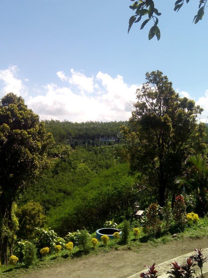 Montagne Nglegok de Kelud blitar photographie stock
