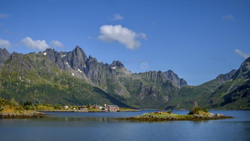 Montagne, Norvège image libre de droits