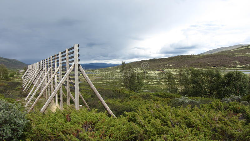 Montagne Norvège photos libres de droits