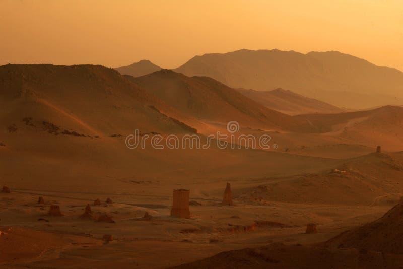 Montagne polverose fotografia stock libera da diritti