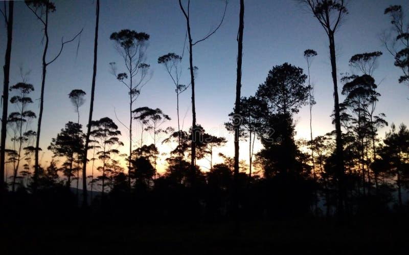 Montagne Putri Lembang photo libre de droits