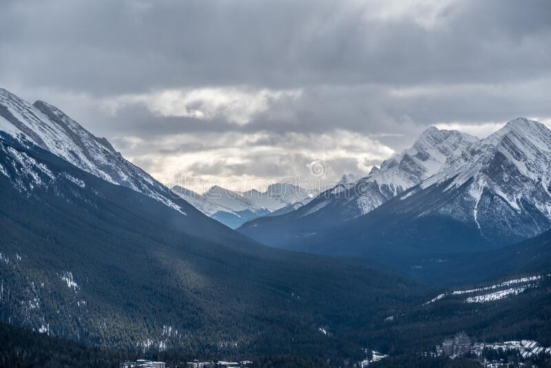 Montagne rocheuse  photographie stock