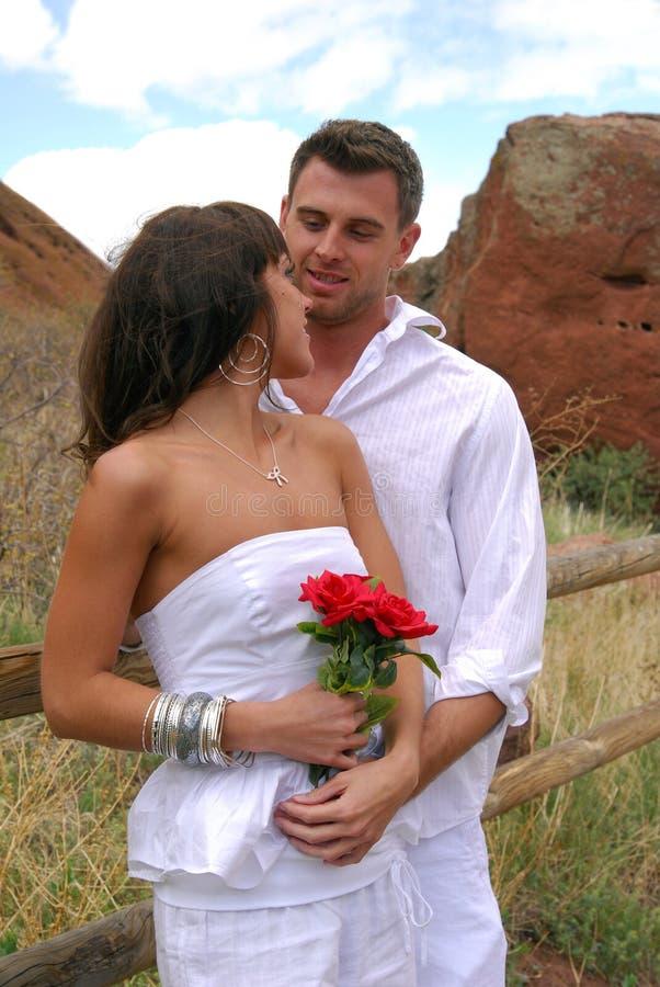 Montagne Romance photo libre de droits