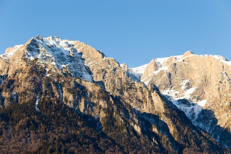 Montagne Romania di Bucegi immagini stock