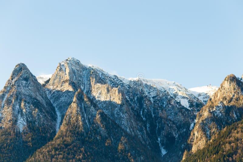 Montagne Romania di Bucegi immagine stock libera da diritti
